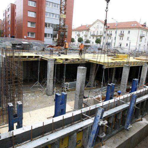 Startuoja Klaipėdos vaikų konsultacinės poliklinikos statybos