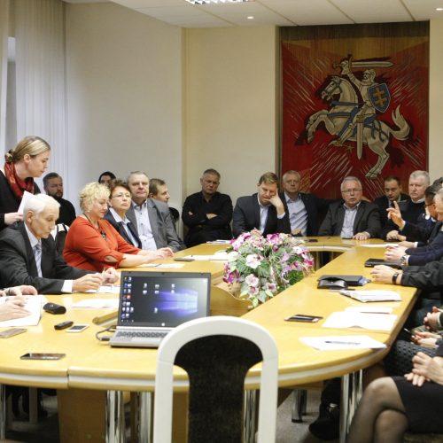 Pasitarimas dėl padidėjusios taršos  © Vytauto Liaudanskio nuotr.