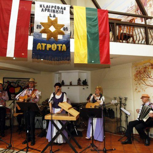 Klaipėdoje paminėta Latvijos nepriklausomybės diena