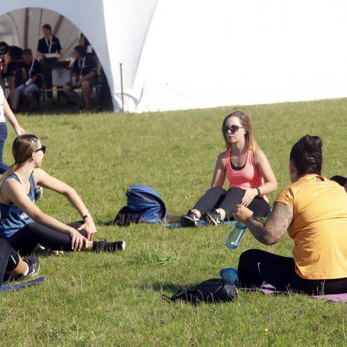 """""""Laisvės pikniko"""" pramogos  © Laimučio Brundzos nuotr."""
