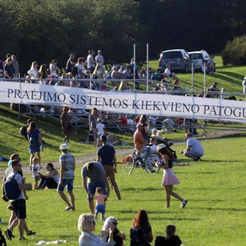 """""""Laisvės pikniko"""" vakarinė dalis  © Laimučio Brundzos nuotr."""