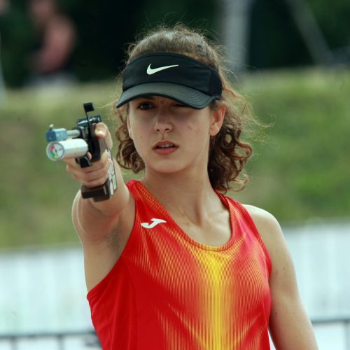 Europos jaunių šiuolaikinės penkiakovės čempionatas Kaune  © Laimučio Brundzos nuotr.