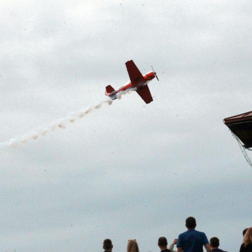 ANBO akrobatinis skrydis Kaunui