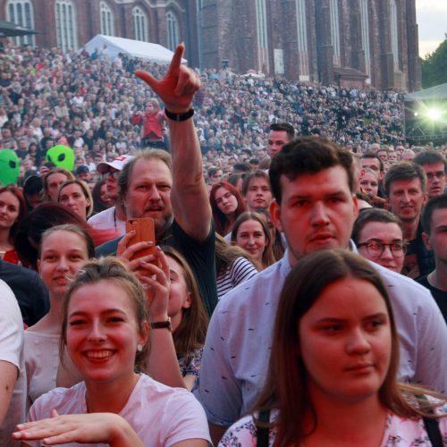 Andriaus Mamontovo koncertas Kauno gimtadieniui  © Laimučio Brundzos nuotr.