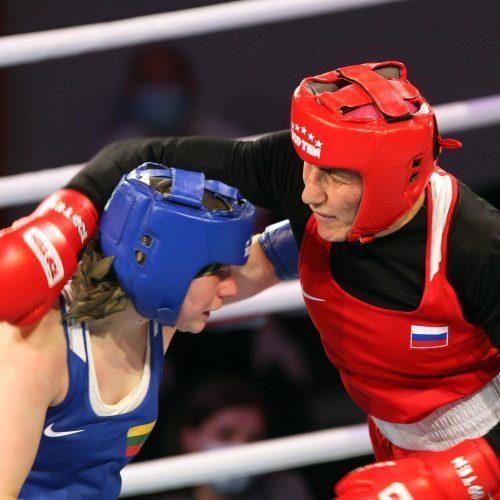 A.Šociko bokso turnyro finalai  © Laimučio Brundzos nuotr.