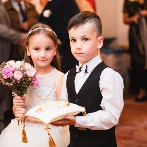 Mečislovo ir Eugenijos Žilinskų auksinės vestuvės  © Eitvydo Kinaičio nuotr.