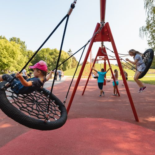 Atnaujinto Draugystės parko atidarymas  © Eitvydo Kinaičio ir Kauno miesto savivaldybės nuotr.