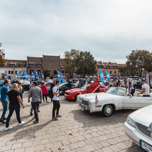 """""""Memel Motor Fest 2019"""" – Kauno senamiesčio vasaros sezono uždarymas  © Eitvydo Kinaičio nuotr."""