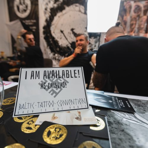 """""""Baltic Tattoo Convention"""" – 2-oji diena  © Eitvydo Kinaičio nuotr."""
