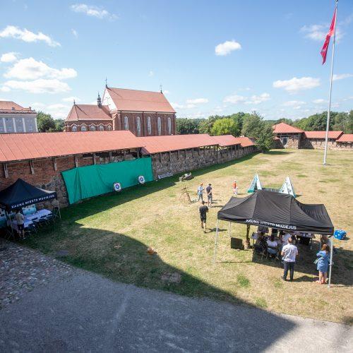 Šeimadienis prie Kauno pilies  © Justinos Lasauskaitės nuotr.