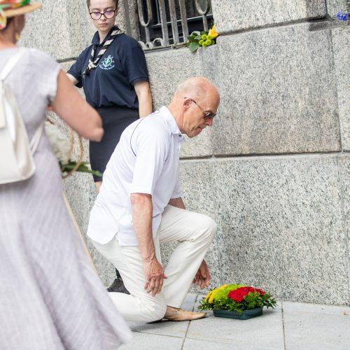 Birželio sukilimo 80-mečio minėjimas  © Justinos Lasauskaitės nuotr.