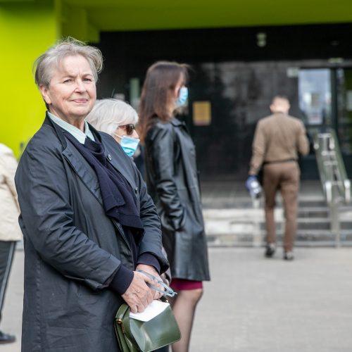 Pagerbtas buvęs Dainavos poliklinikos vadovas G. Andziukevičius  © Justinos Lasauskaitės nuotr.