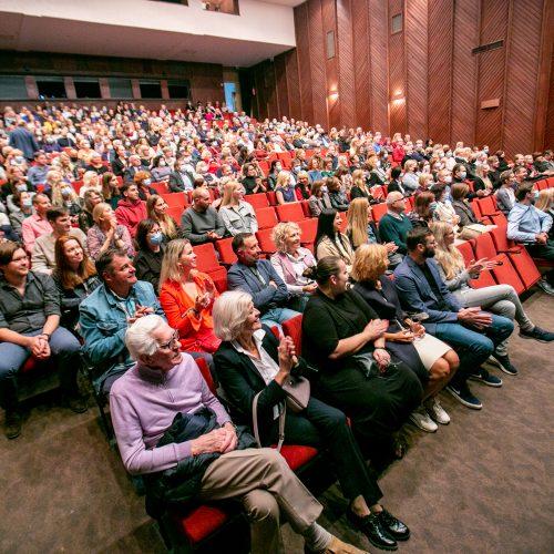 """Festivalio """"Lietuvos teatrų pavasaris - Kaunas 2021"""" atidarymas  © Justinos Lasauskaitės nuotr."""