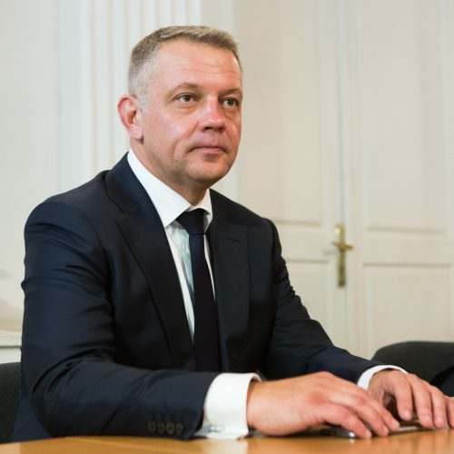 """Teisme – """"MG Baltic"""" politinės korupcijos byla  © G. Skaraitienės / BFL nuotr."""