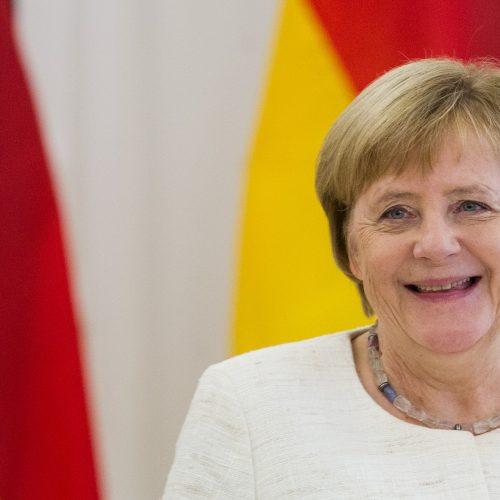 Į Lietuvą atvyko Vokietijos kanclerė A. Merkel  © P. Peleckio / Fotobanko, D. Labučio / ELTOS nuotr.