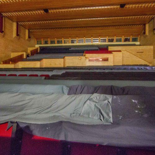 Prasideda Nacionalinio dramos teatro rekonstrukcija  © I. Gelūno / BFL nuotr.