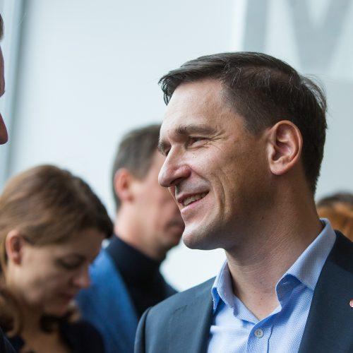 Konservatoriai pristatė kandidatą į sostinės merus  © G. Skaraitienės / Fotobanko nuotr.