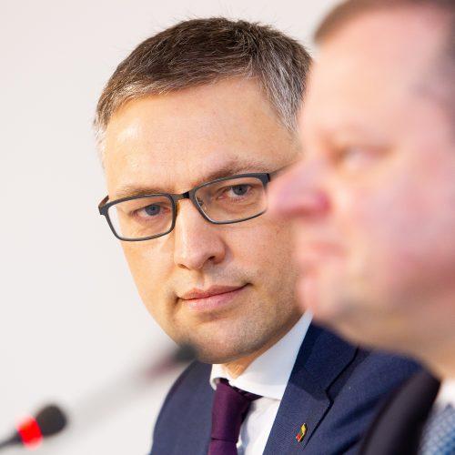 S. Skvernelis pristatė prezidentinį rinkimų štabą  © Irmanto Gelūno / Fotobanko nuotr.