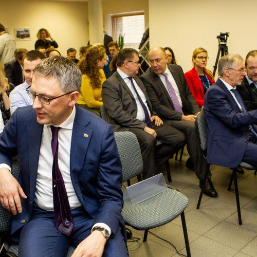 S. Skvernelis pristatė užsienio politikos strategiją  © P. Peleckio / Fotobanko nuotr.