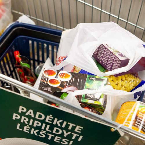 """Prasidėjo """"Maisto banko"""" akcija  © P. Peleckio / Fotobanko nuotr."""