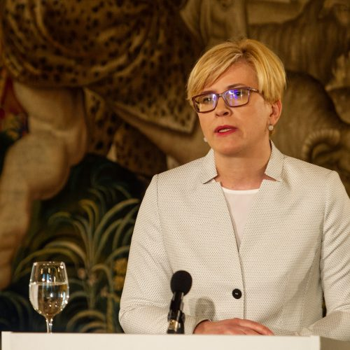 Kandidatų į prezidentus spaudos konferencijos