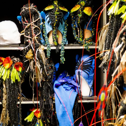 """""""Cirque du Soleil"""" pasirodymo užkulisiai  © I. Gelūno / Fotobanko, G. Jauniškio nuotr."""