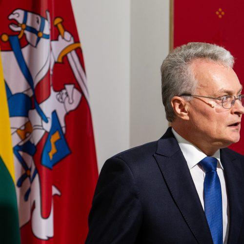 G. Nausėda pristatė patarėjų komandą  © P. Peleckio / Fotobanko nuotr.