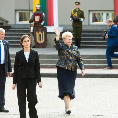 Prezidento rūmų perdavimo ceremonija  © R. Dačkaus / Prezidentūros nuotr.