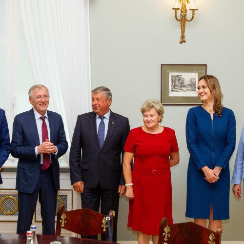 Prezidentas susitiko su Seimo valdyba  © I. Gelūno / Fotobanko nuotr.