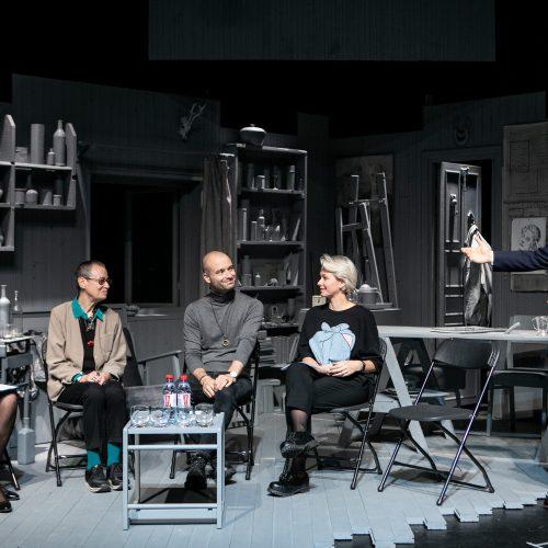 Vilniaus mažojo teatro spaudos konferencija  © P. Peleckio / Fotobanko nuotr.