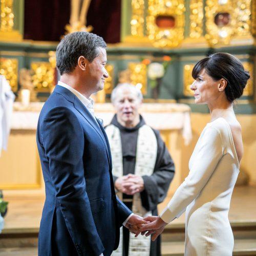 Rašytojo P. Seniūtos vestuvės