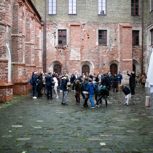 Rašytojo P. Seniūtos vestuvės  © I. Gelūno / Fotobanko nuotr.