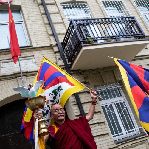 Su taikos misija į Lietuvą atvyko Tibeto vienuolis  © P. Peleckio / Fotobanko nuotr.