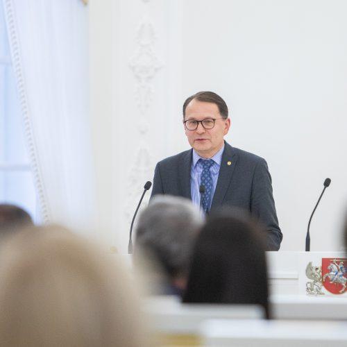 Konstitucijos egzamino nugalėtojų apdovanojimai  © I. Gelūno / Fotobanko nuotr.