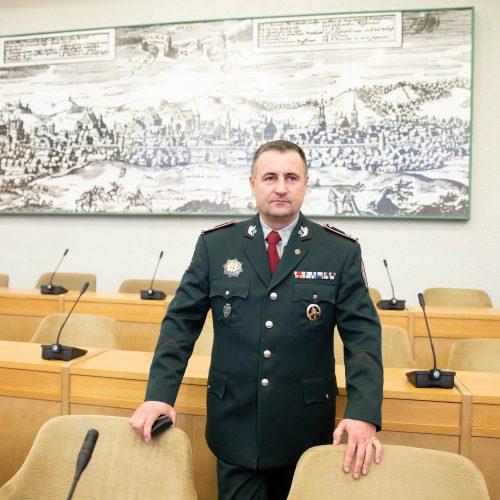 R. Požėla paskirtas policijos vadu  © I. Gelūno / Fotobanko nuotr.