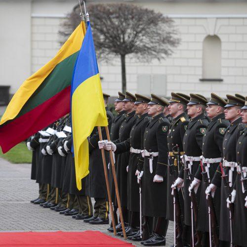 Ukrainos prezidento vizitas Lietuvoje  © R. Dačkaus / Prezidentūros, P. Peleckio / Fotobanko nuotr.
