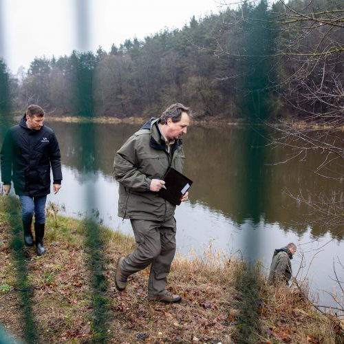 "Patikrinimas ""Grigeo"" Grigiškėse  © I. Gelūno / Fotobanko nuotr."
