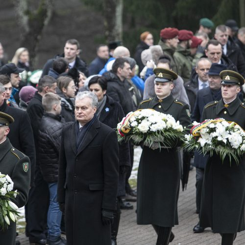 Žuvusiųjų atminimas pagerbtas Antakalnio kapinėse  © P. Peleckio / Fotobanko nuotr.