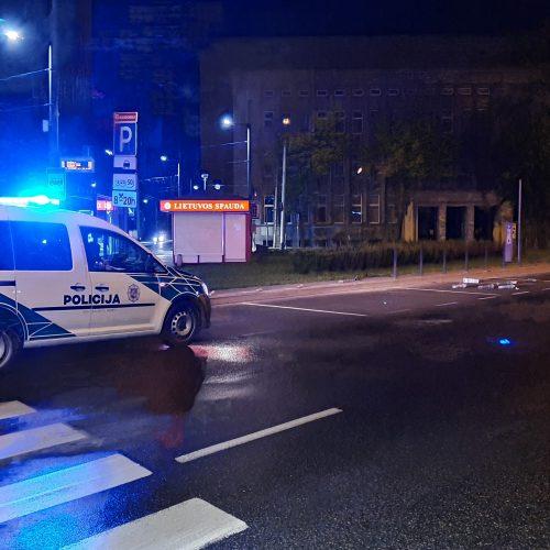 """Citybee"" automobilio avarija Kaune"