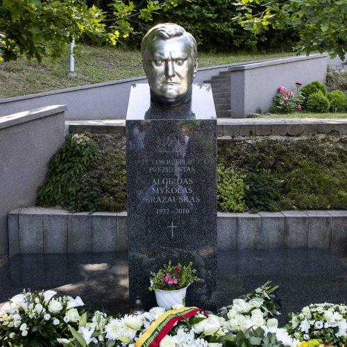 Minimos A. Brazausko dešimtosios mirties metinės
