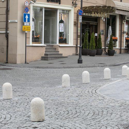 Vilniaus senamiestyje įvestas kilpinis eismas  © P. Peleckio / Fotobanko nuotr.