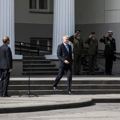 Kariūnams suteiktas pirmasis karininko laipsnis  © P. Peleckio / Fotobanko nuotr.