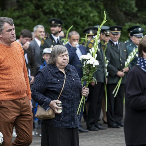 Medininkų tragedijos 29-ųjų metinių minėjimas  © P. Peleckio / Fotobanko nuotr.