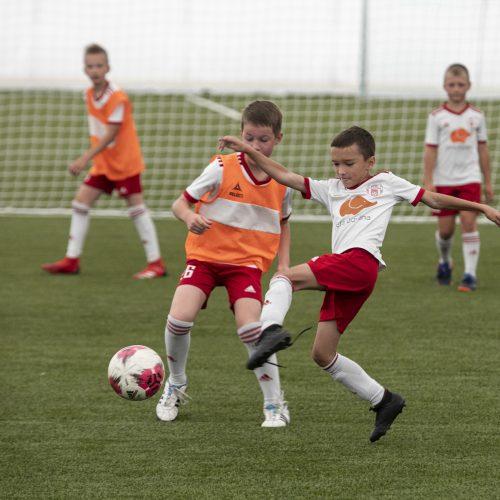 Pilaitės dengto futbolo maniežo atidarymas  © P. Peleckio / Fotobanko nuotr.