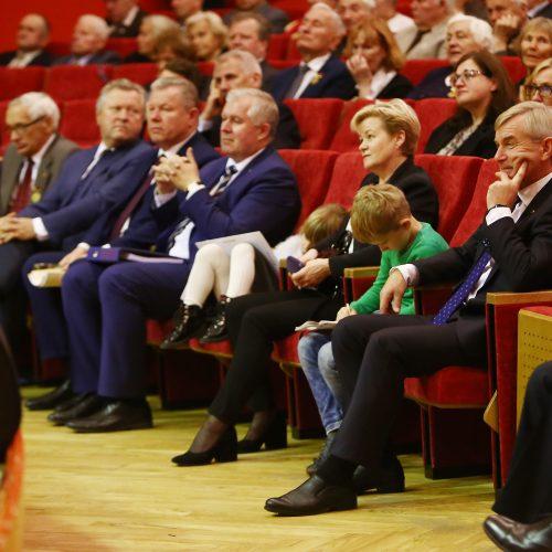 Politinių kalinių ir tremtinių sąjungos 30-mečio minėjimas Kaune  © A. Koroliovo nuotr.