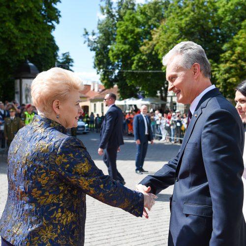 Prezidento rūmų perdavimo ceremonija
