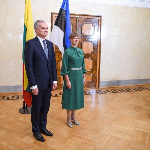 G. Nausėdos vizitas į Estiją  © R. Dačkaus / Prezidentūros nuotr.