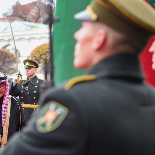 Prezidentas priėmė ambasadorių skiriamuosius raštus  © R. Dačkaus / Prezidentūros nuotr.