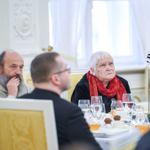 Nacionaliniai maldos pusryčiai  © R. Dačkaus / Prezidentūros nuotr.