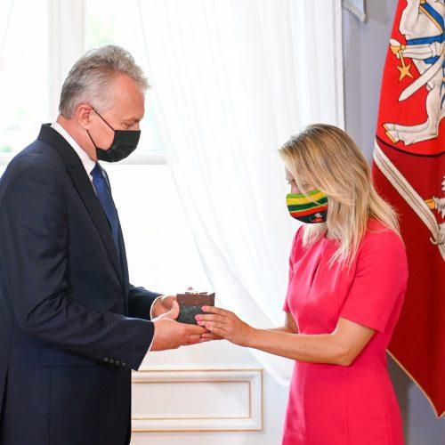 """""""Globalios Lietuvos"""" apdovanojimai  © R. Dačkaus / Prezidentūros nuotr."""